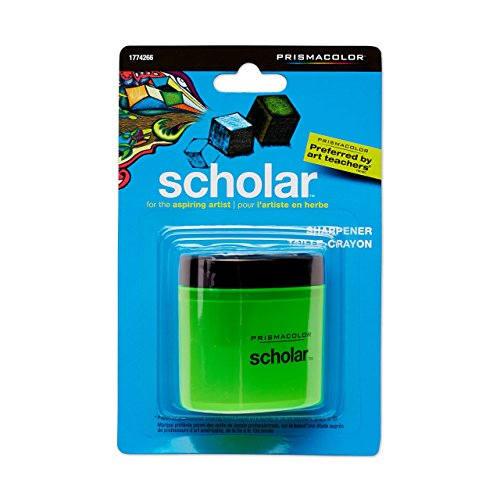 Prismacolor Scholar Sacapuntas y borrador, color verde Sharpener